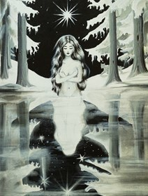 Obraz do salonu artysty Aleksandra Stencka pod tytułem Stella Maris