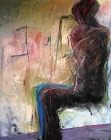 Obraz do salonu artysty Marcin Wąsik pod tytułem Znaki...prosta myśl