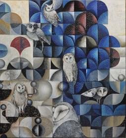 Obraz do salonu artysty Katarzyna Stelmach pod tytułem Plomykowka