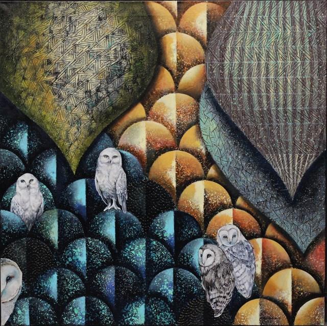 Obraz do salonu artysty Katarzyna Stelmach pod tytułem KWINTET