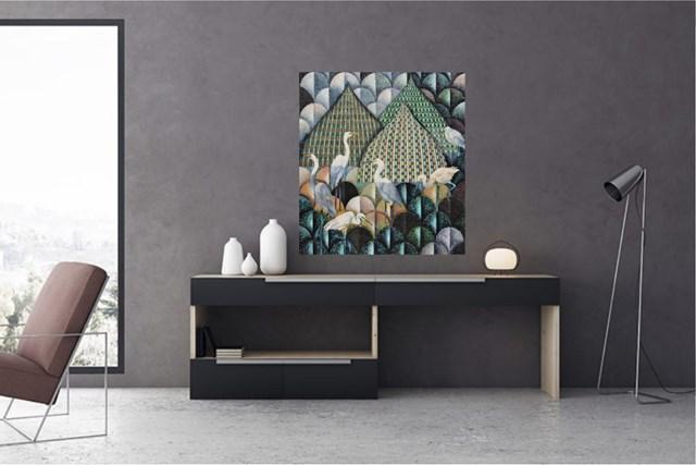 Mozaika IV - wizualizacja pracy autora Katarzyna Stelmach