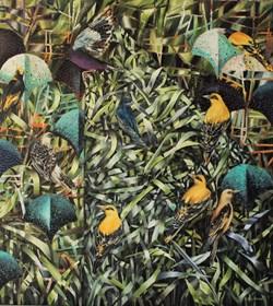 Obraz do salonu artysty Katarzyna Stelmach pod tytułem wilgi