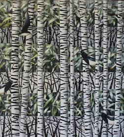 Obraz do salonu artysty Katarzyna Stelmach pod tytułem Bez tytułu