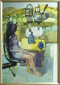 Obraz do salonu artysty Kajetan Pasztuła pod tytułem Wodnoki