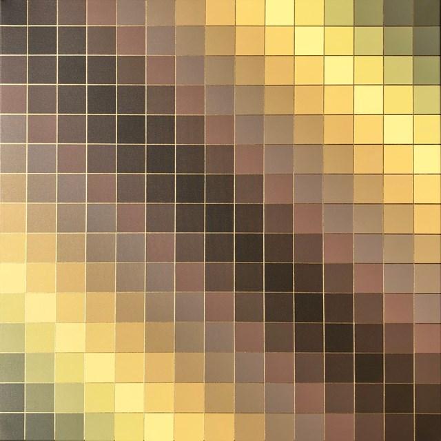 Obraz do salonu artysty Izabela Kozłowska pod tytułem Pixelosis
