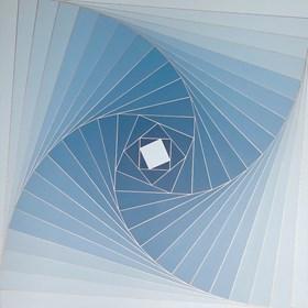 Obraz do salonu artysty Izabela Kozłowska pod tytułem Whirlwinds