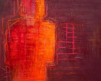 Obraz do salonu artysty Bea Guillemot pod tytułem 18-A2