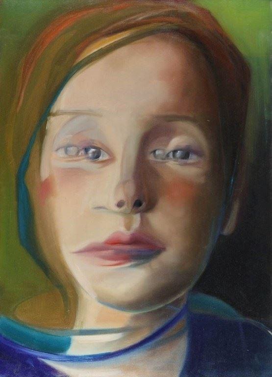 Obraz do salonu artysty Monika Marchewka pod tytułem Kamila