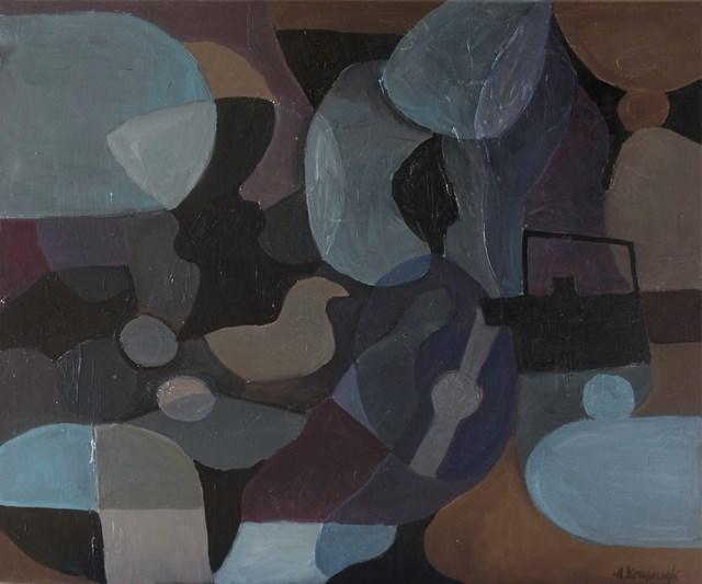 Obraz do salonu artysty Agnieszka Krawczyk pod tytułem Martwa natura 6