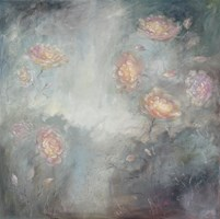 Living room painting by Agnieszka Krawczyk titled  Botany 16