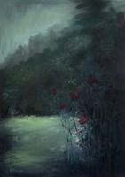 Obraz do salonu artysty Agnieszka Krawczyk pod tytułem W ogrodzie 3
