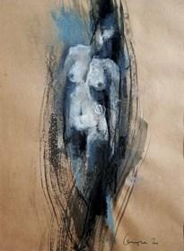 Grafika do salonu artysty Anita Cempa pod tytułem Akt I