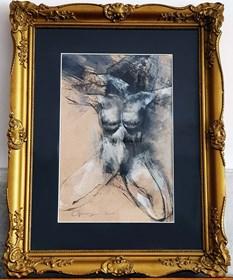 Grafika do salonu artysty Anita Cempa pod tytułem Lilith III