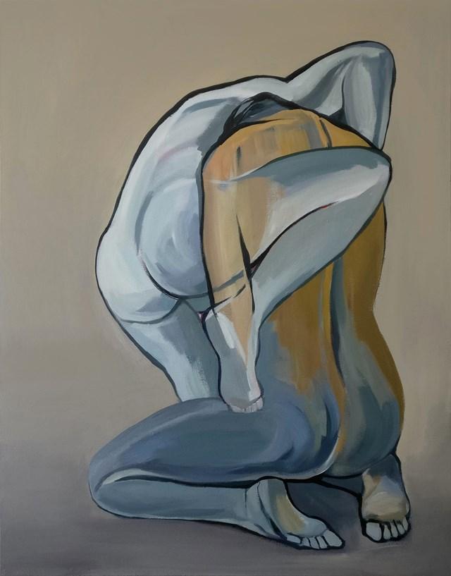 Obraz do salonu artysty Malwina Chabocka pod tytułem (Over)coming