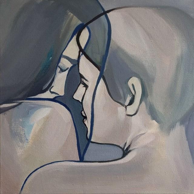 Obraz do salonu artysty Malwina Chabocka pod tytułem Quiet loving