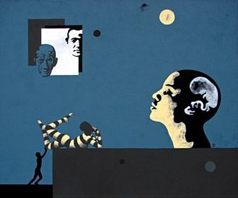 Obraz do salonu artysty Marcin Zalewski pod tytułem NOC