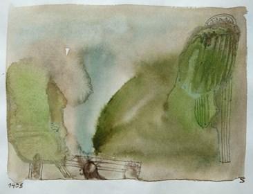 Obraz do salonu artysty Jerzy Stajuda pod tytułem Kompozycja 1405 V