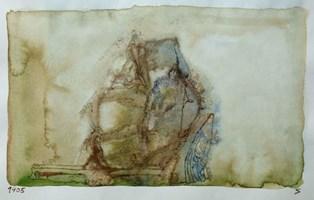 Obraz do salonu artysty Jerzy Stajuda pod tytułem Kompozycja 1405 VI