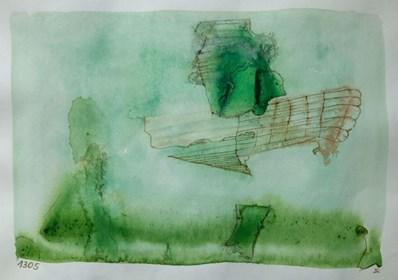 Obraz do salonu artysty Jerzy Stajuda pod tytułem Kompozycja 1305 III