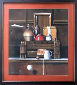 Obraz do salonu artysty Marian Michalik pod tytułem Życzenia imieninowe