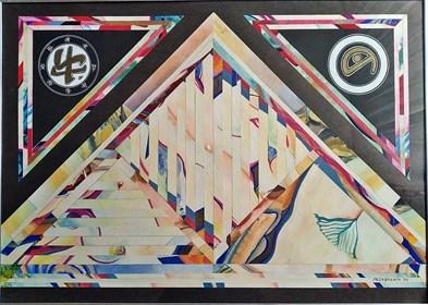 Obraz do salonu artysty Marek Przybyła pod tytułem Kompozycja