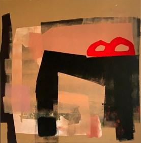 Obraz do salonu artysty Dominika Naziębły pod tytułem Bez tytułu, 25