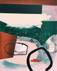 Obraz do salonu artysty Dominika Naziębły pod tytułem Bez tytułu 18