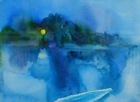 Obraz do salonu artysty Magdalena Gintowt-Juchniewicz pod tytułem nokturn