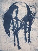 Grafika do salonu artysty Magdalena Gintowt-Juchniewicz pod tytułem śnieżny