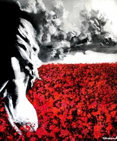 Obraz do salonu artysty Milena Chmielewska pod tytułem Red