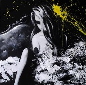 Obraz do salonu artysty Milena Chmielewska pod tytułem Nazajutrz