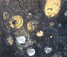 Obraz do salonu artysty Oliwia Hildebrandt pod tytułem Kamienie. Kosmos.