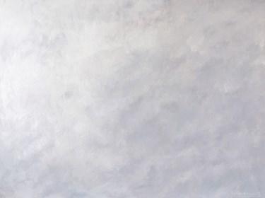 Obraz do salonu artysty Lidia Wnuk pod tytułem Notatki z patrzenia w niebo IV