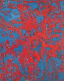 Obraz do salonu artysty Lidia Wnuk pod tytułem Struktury remontowe V