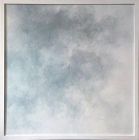 Obraz do salonu artysty Lidia Wnuk pod tytułem Notatki z patrzenia w niebo I