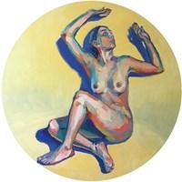 Obraz do salonu artysty Lidia Wnuk pod tytułem Lovers IV