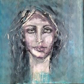 Obraz do salonu artysty Karina Góra pod tytułem MALACHITOWA