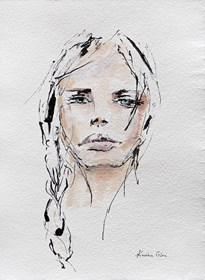 Obraz do salonu artysty Karina Góra pod tytułem Jej usta