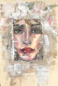 Obraz do salonu artysty Karina Góra pod tytułem Inside IV