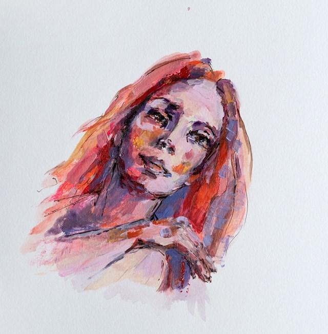Obraz do salonu artysty Karina Góra pod tytułem Rudowłosa