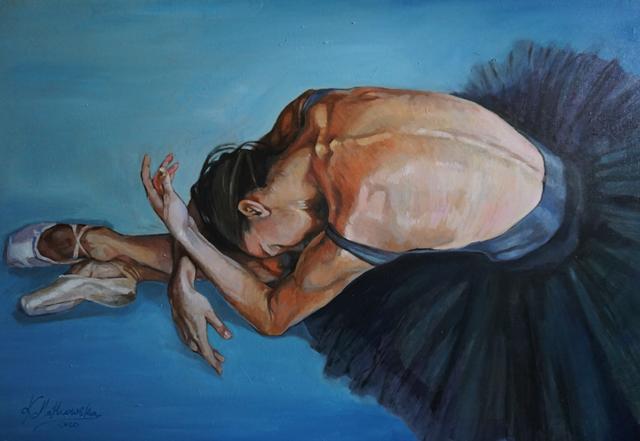 Obraz do salonu artysty Kamila Matkowska pod tytułem ODPOCZYNEK