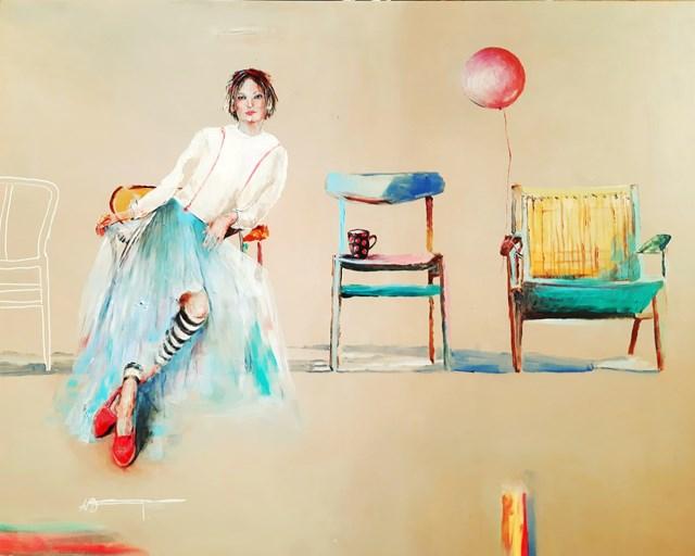 Obraz do salonu artysty AGNIESZKA BANASIAK pod tytułem Wielopokoleniowe