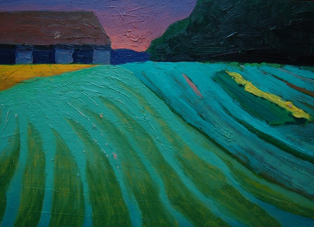 Obraz do salonu artysty Jasiek Balcerzak pod tytułem Pejzaż 18