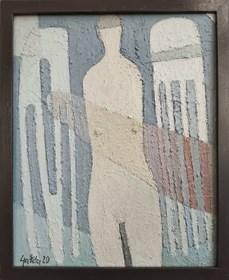 Obraz do salonu artysty Tadeusz Gałda pod tytułem Komopzycja 3