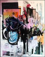 Obraz do salonu artysty Krzysztof Cichoń pod tytułem Bee in gas mask
