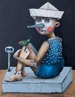 Obraz do salonu artysty Elisaveta Angelova pod tytułem Buratino