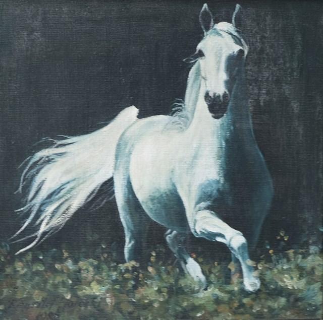 Obraz do salonu artysty Krzysztof Jarocki pod tytułem Bez tytułu