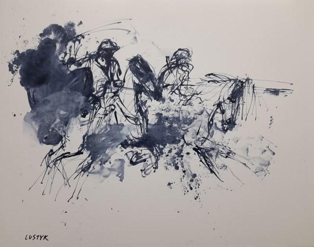 Obraz do salonu artysty Bogusław Lustyk pod tytułem Polo