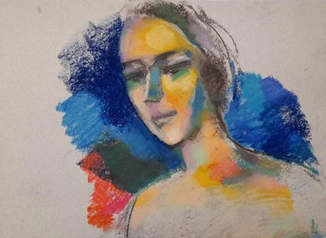 Obraz do salonu artysty Bogusław Lustyk pod tytułem Piękne