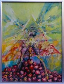 Obraz do salonu artysty Wojciech Łuka pod tytułem Bez tytułu